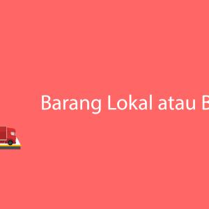 Barang Lokal
